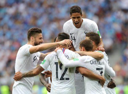 La Francia elimina con merito l'Uruguay, semifinale spettacolare contro il Belgio