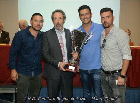 Le squadre premiate dal Cr Lazio