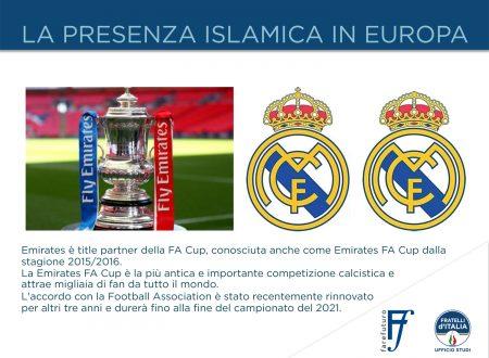 """Procaccini (FdI): """"Controllo squadre di calcio strumento per islamizzare in Europa"""""""