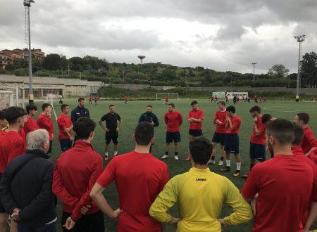 Falzerano in visita agli allenamenti dell'Under 19 del Guidonia