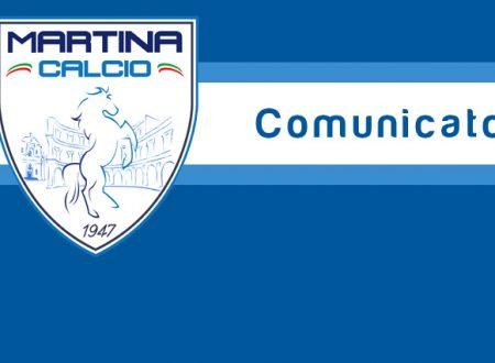 Martina Calcio, triste epilogo: attività sospesa