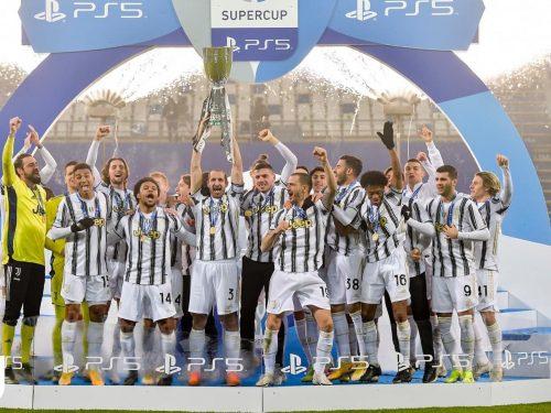 Nona Supercoppa italiana per la Juventus