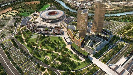 Ecco le caratteristiche per il nuovo stadio della Roma